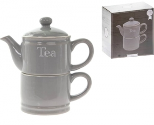 "Zestaw Tea For One ""Home Sweet Home"""