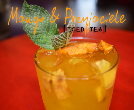 Małe Fanaberie - Mango & Friends Iced Tea